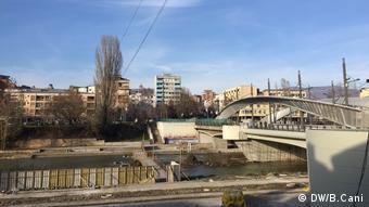 Μιτροβίτσα, στο βόρειο τμήμα του Κοσσυφοπεδίου, όπου ζουν στην πλειοψηφία τους Σέρβοι
