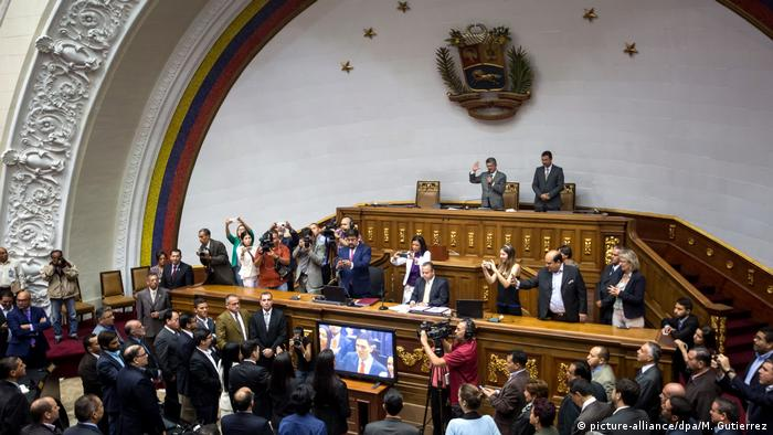 Venezuela Parlament in Caracas (picture-alliance/dpa/M. Gutierrez)