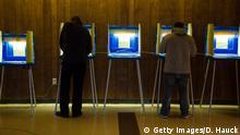 USA Präsidentschaftswahl in Wisconsin