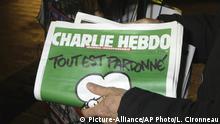 Frankreich Deutschland Charlie Hebdo