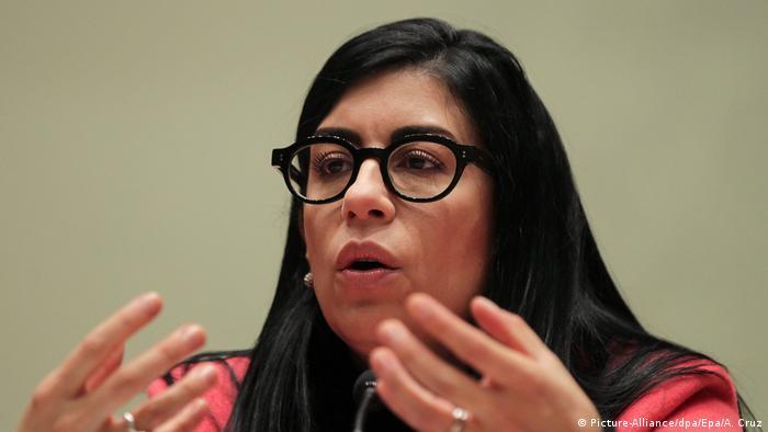 Mexico Vanessa Rubio (Picture-Alliance/dpa/Epa/A. Cruz)