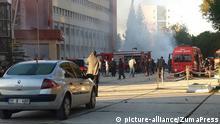 24.11.2016+++ Adana, Trkiye - Adanada valilik otoparknda patlama meydana geldi. Adana Valisi Demirta yapt aklamada, 2 kiinin ldn, 16 kiinin yaralandn duyurdu. Blgeye ok sayda ambulans sevkedildi |