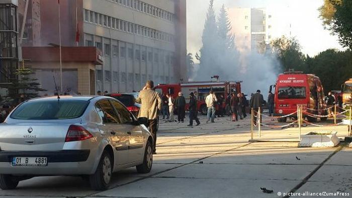 Türkei Explosion in Adana (picture-alliance/ZumaPress)