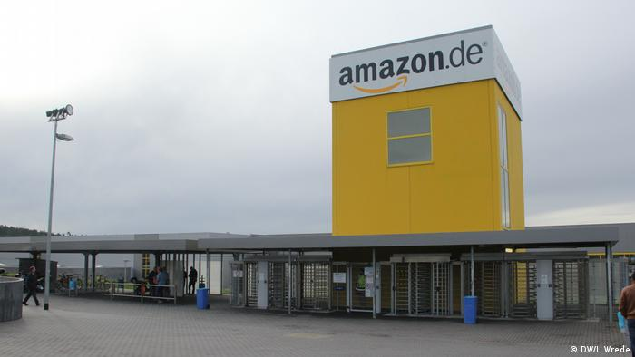 Bad Hersfeld Amazon Logistikzentrum (DW/I. Wrede)