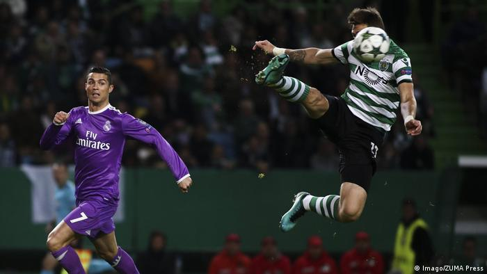 Champions League 2016/17 5. Spieltag Sporting CP and Real Madrid (Imago/ZUMA Press)