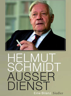Обложка книги Гельмута Шмидта ''В отставке''