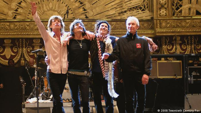 The Rolling Stones Shine a Light Film (2008 Twentieth Century Fox )