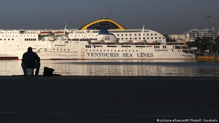 Griechenland Fähren werden bestreikt