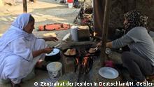 +++Nur im Rahmen der abgesprochenen Berichterstattung zu verwenden!+++ Griechenland Jesidische Frauen in Flüchtlingslager von Petra
