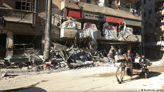 Syrien Krieg - Kämpfe in Aleppo