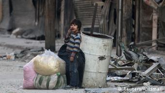 Syrien Krieg - Kämpfe in Aleppo (Reuters/A. Ismail)