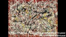 Jackson Pollock: Mural on Indian Red Ground, 1950