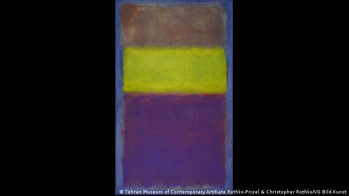 Mark Rothko: No.2 (Yellow Center), 1954 (Tehran Museum of Contemporary Art/Kate Rothko-Prizel & Christopher Rothko/VG Bild-Kunst)