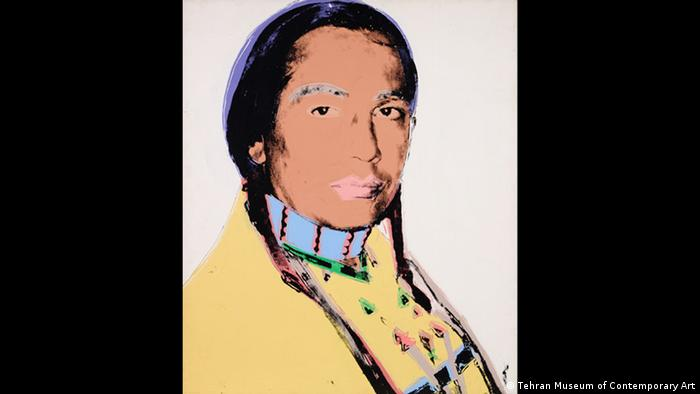 Andy Warhol: The American Indian, 1976 (Tehran Museum of Contemporary Art)
