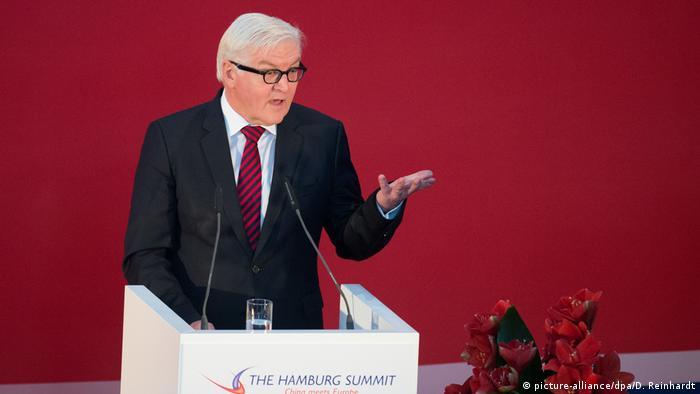 Deutschland Hamburg Summit: China meets Europe