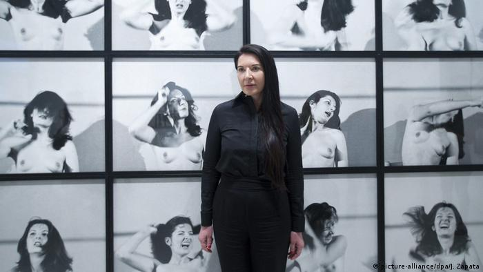 Blood And Pain Extreme Performance Artist Marina Abramovic Turns 70 Arts Dw 30 11 2016
