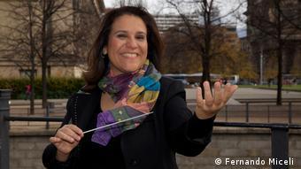 Andréa Huguenin Botelho - brasilianische Pianistin, Dirigentin und Kulturmanagerin