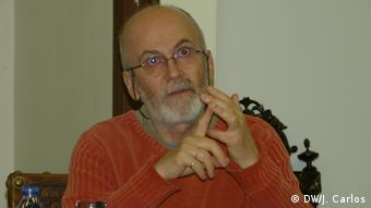 Portugal Diskussion über Bürgerkrieg in Mosambik in Lissabon - Michel Cahen (DW/J. Carlos)