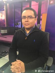 El periodista Arturo Ángel Mendieta.