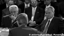 USA Dayton Tudjman und Milosevic