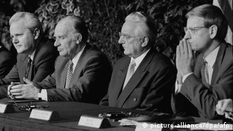 USA Dayton Milosevic Izetbegovic Tudjman Bildt