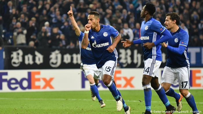 Fußball FC Schalke 04 v OGC Nizza - UEFA Europa League (Getty Images/Bongarts/S. Franklin)