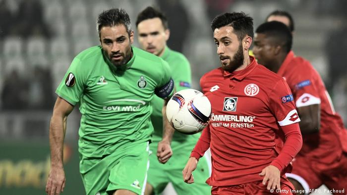 Fußball Europa League FBL-EUR-C3-SAINT ETIENNE - MAINZ (Getty Images/AFP/J. Pachoud)