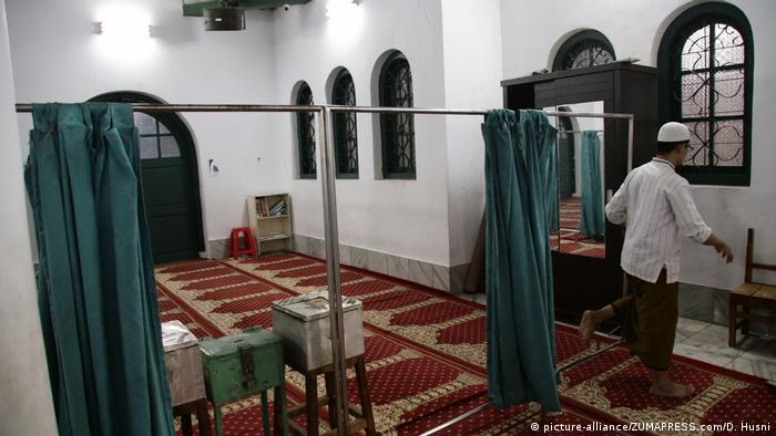 Indonesien Cikini Al Ma'mur Moschee in Jakarta (picture-alliance/ZUMAPRESS.com/D. Husni)