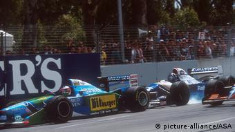 Australien Formel 1 1994 Michael Schumacher Damon Hill