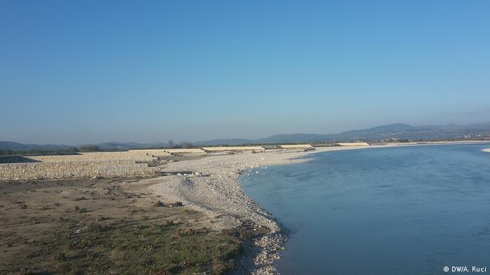 Albanien EU Hilfe Hochwasserschutz (DW/A. Ruci)