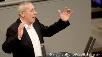 Roland Claus im Bundestag