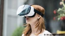Redheaded woman wearing Virtual Reality Glasses model released Symbolfoto PUBLICATIONxINxGERxSUIxAUTxHUNxONLY TAMF00778 redheaded Woman Wearing Virtual Reality Glasses Model released Symbolic image PUBLICATIONxINxGERxSUIxAUTxHUNxONLY TAMF00778
