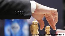 USA Schach Weltmeisterschaft in New York - Weltmeister Magnus Carlsen