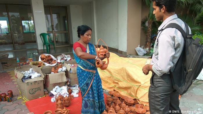 Indien Kolgata Handwerksmesse (DW/S. Bandopadhyay)