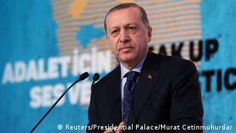 Türkei Präsident Tayyip Erdogan Rede in Istanbul