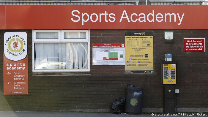 England Crewe Alexandra Sportakademie (picture-alliance/AP Photo/M. Rickett)