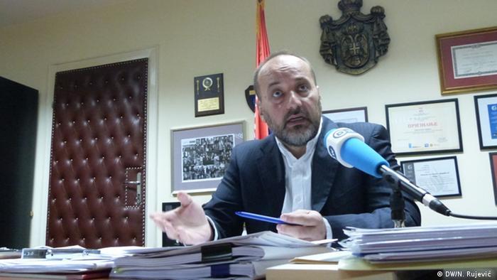 Serbien Ombudsmann Sasa Jankovic in Belgrad