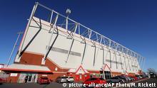 England Crewe Alexandra Stadion