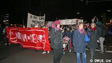 Deutschland Internationaler Tag gegen Gewalt an Frauen - Demonstration