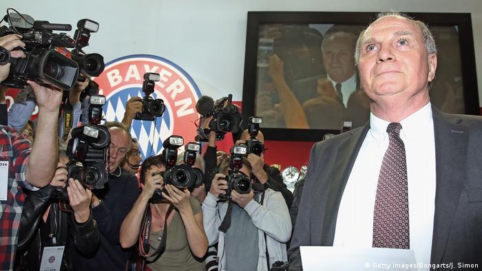 Jahreshauptversammlung FC Bayern München Uli Hoeness (Getty Images/Bongarts/J. Simon)