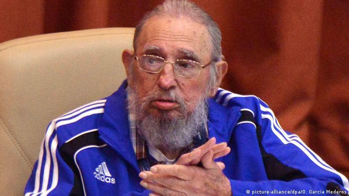 Kuba Fidel Castro (picture-alliance/dpa/O. Garcia Mederos)