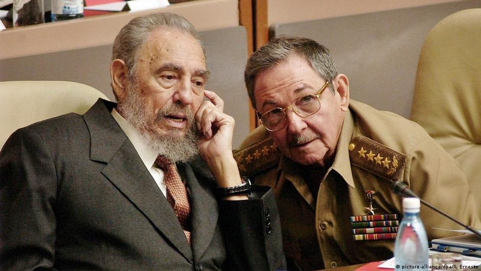 Kuba Fidel und Raul Castro