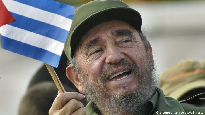 Kuba Fidel Castro (picture-alliance/dpa/A. Ernesto)