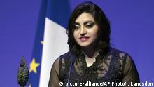 Frankreich Preis Konfliktprävention Chirac-Stiftung Gulalai Ismail (picture-alliance/AP Photo/I. Langsdon)