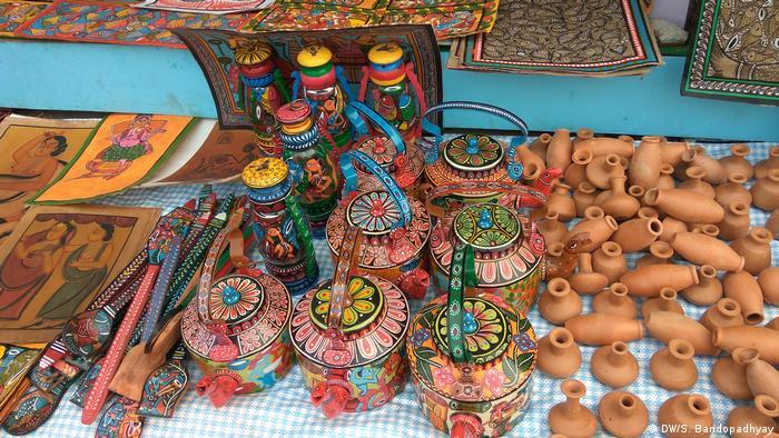 Indien Handwerksmesse in Kalkutta (DW/S. Bandopadhyay)