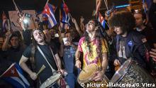 USA Miami Reaktionen Tod Fidel Castro