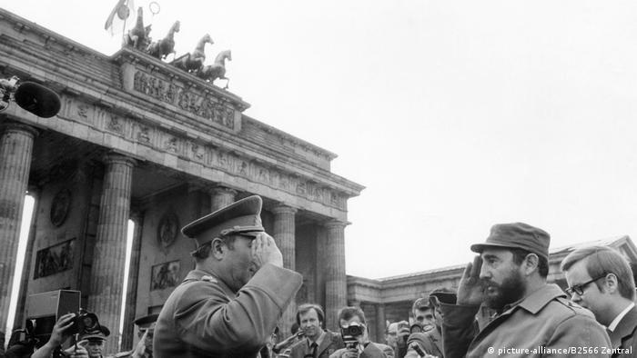 Кастро в ГДР