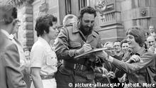 Fidel Castro in Berlin