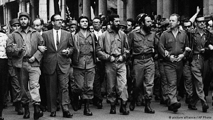 Фидель Кастро и соратники