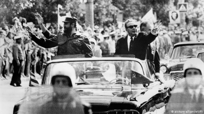 Кастро и Брежнев